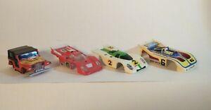 Lot of 4 Very Nice Vintage Aurora AFX HO Slot Car Bodies