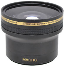 58MM X16 ULTRA FISHEYE LENS + MACRO LENS FOR CANON EOS REBEL DSLR CAMERAS