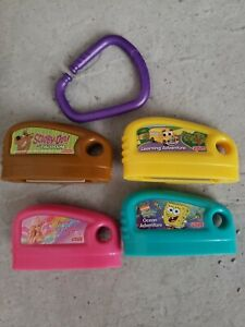 Lot Of 4 Fisher Price Smart Cycle Game    Cartridges Learning Adventure