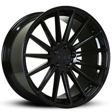 "(4) 21"" Road Force Wheels RF15 Gloss Black Rims (B5)"