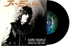 "JON ENGLISH - SOME PEOPLE HAVE ALL THE FUN - 7"" 45 VINYL RECORD PIC SLV 1983"