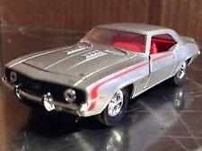1968 Chevy camaro silver. M2 /64 loose