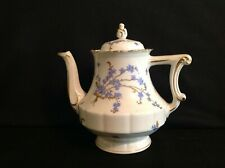 Haviland Limoges Montmery (Forget Me Nots) One (1) Teapot & Lid Imperfect