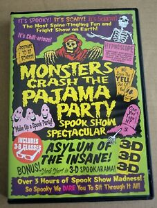 Monsters Crash the Pajama Party, Something Weird Video  (Region 1/US).