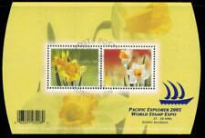 Canada 2005 Daffodils Souvenir Sheet Used