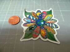 PSYCHEDELIC FLOWER Sticker / Decal Skateboard Laptop Stickers NEW GLOSSY