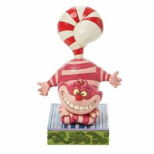 Disney Traditions 6008984 Christmas Cheshire Cat Figurine New & Boxed