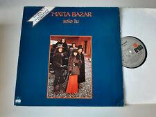 LP Pop Matia Bazar - Solo Tu (10 Song) ARIOLA GERMANY
