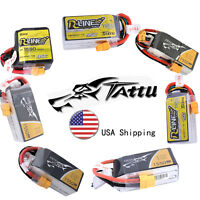 Tattu 1550mAh 3S 4S 11.1V 14.8V 45C 95C RC Lipo Battery XT60 Plug For FPV Drone