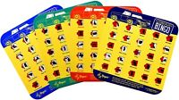 Regal Games License Plate Travel Bingo For Roadtrips (Pack of 4)