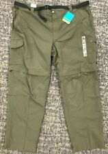 *NEW* Columbia Men's Silver Ridge Convertible Pant, Olive Green, 50x32, AX1798