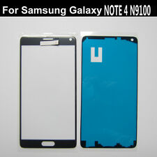 Dark Grey front outer screen glass lens Glass Replacement For Galaxy Note 4