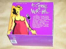 CD NEUF scellé - LES GRANDS DU MUSIC HALL / Coffret 8 CD -B3