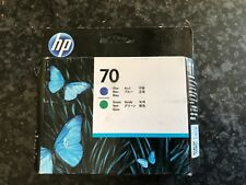 HP 70 Printhead Blue Green C9408A. Other colours available