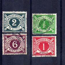 IRLANDE - EIRE Yvert Taxe n° 1/4 oblitéré