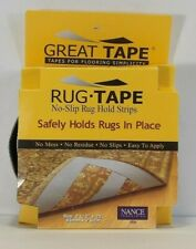 """Great Tape Rug Tape: No-Slip Rug Hold Strips; 2 1/2"""" x 25' Nance Industries USA"""