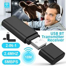 Wireless Bluetooth Receiver 5.0 3.5mm Jack Aux USB Audio Adapter For TV PC Car