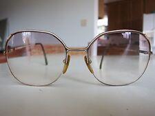 Pierre Cardin Vintage Mod Retro Oversized Gold Eyeglass Frame CS-143 2 135