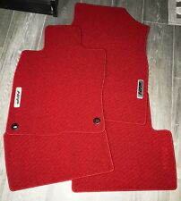 2016-2018 Honda Civic COUPE HFP RED Floor Mats - OEM! NEW! 08P15-TBJ-110A