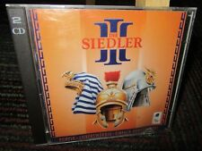 DIE SIEDLER III AKA THE SETTLERS III 2-DISC PC CD-ROM GAME, EURO EDITION, GERMAN
