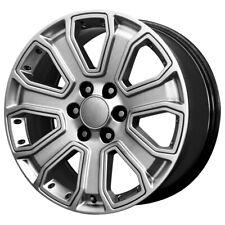 "22"" Inch Replica  2015 Gmc Denali 22x9 6x139.7 +31mm Hyper Silver  Wheel Rim"