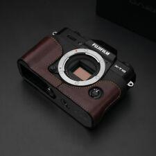 GARIZ HALF CASE Marrone -CUSTODIA Per  Fujifilm X-T20 E X-T10
