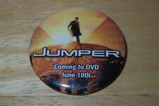 Jumper Samuel L. Jackson Hayden Christensen Button Pin Movie Coming to DVD Promo