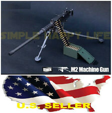 "❶❶1/6 US ARMY M2 Machine Gun .50 Cal 12"" figure Soldiers military Weapon USA❶❶"