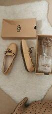 Genuine UGG Water Resistant Slip on Flats lofer Shoes Size UK 6 Narrow