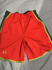 Under Armour Women's Shorts Loose Fit XS Basketball Workout Running Neon Pink