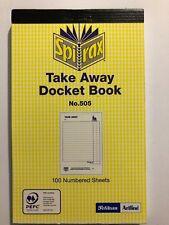 Spirax Take Away Docket Book - #A18