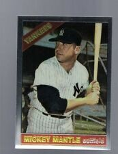 1996 TOPPS FINEST MICKEY MANTLE Commemorative  #16 (1966 #50) (B)