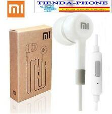 Auriculares para Huawei Ascend P7 P8 Lite Max Cascos Blanco Micro Manos Libres