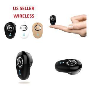 New Mini Wireless Sport Bluetooth Head Bud Earbud STEREO In-Ear Earphone