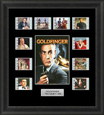 James Bond Goldfinger (1964) 35mm Film Cells Movie Cell Filmcells Presentation