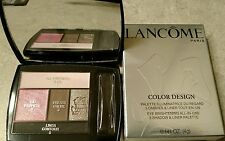 LANCOME Color Design Eyeshadow Liner Palette (Full Size) Rose Coquette Retail$50