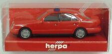 HERPA Nr.043427 MB E 320 (W210) Feuerwehr ELW (rot) - OVP