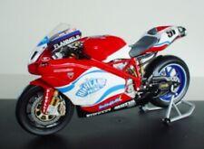 MINICHAMPS 1/12 DUCATI 999RS WSB 2004 Leon Haslam #91 SBK Superbike Motorcycle