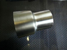 Stainless Steel Exhaust Adapter From 70mm 65-63-60-58-55mm Price Reduced Bushing