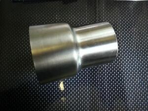 Edelstahl Auspuff Reduzierstück von 80mm auf 76-70-65-63,5-55 Adapter Auswählen