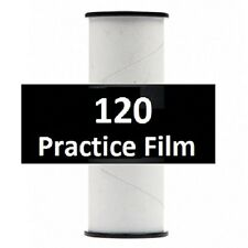 20 Rolls Practice 120 Film - Virgin Film Factory Wrapped on a 120 Spool