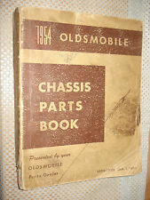 1940-1954 OLDSMOBILE CHASSIS PARTS BOOK CATALOG NUMBERS MANUAL ORIGINAL RARE