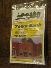 "Smalltown USA HO #699-6000 Town Bank - Tina's Tart Shop 4 x 4-1/8"" 10 x 10.3cm"