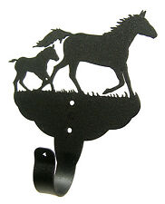 Mare & Foal Single Coat Hook Rack - Many Uses