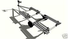 PLAN BUILD TRAILER PONTOON  (model #2)