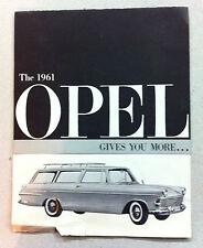 1961 Buick Opel Automobile Advertisement Brochure- NICE!