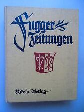 Fugger-Zeitungen Ungedruckte Briefe an das Haus Fugger aus den Jahren 1568-1605