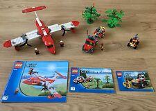 Avión de lego Bosque árbol de camión de bomberos Motor de Coche ATV remolque Jeep City Set 4209 4427