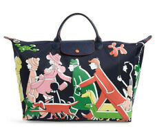 Longchamp x Clo'é Floirat Le Pliage Illustration Large Travel Bag Tote ~NWT~