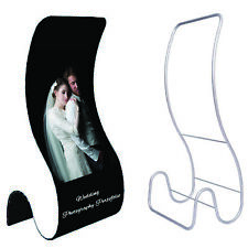 Snake Shape Fabric Banner Stand - Display Stand - Single Side Printed Graphics